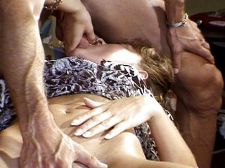 Blond French girl has some beguilement