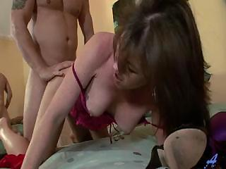 Hot mom knows how she likes it ..hardcore cream pie