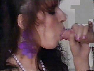Very busty brunette