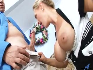 Horny Big Titted MILF In Lingerie