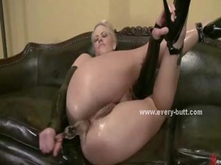Sexy sluts with hot round asses and round tits playing with anal toys in every butt dream
