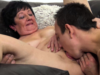 hairy old mom needs a young caitiff public schoolmate