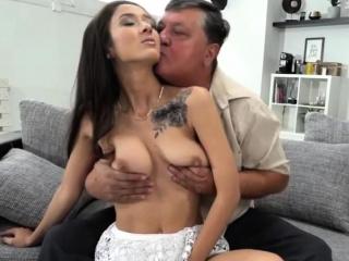 bosomy sensual ballerina fucks well