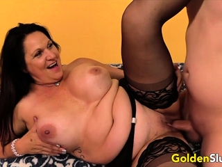 Golden Slattern - Mature Brunettes Comp 2