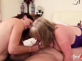 AgedLovE British Matures Hardcore Threesome1