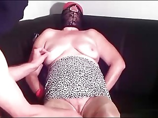 Prime BDSM  training granny Linda 55