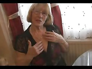 sex movie Sexy granny in pantyhose satirical
