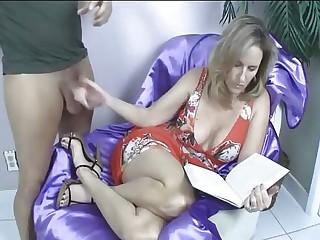 Son Fucks Hard Redhead Mom With His Big Cock