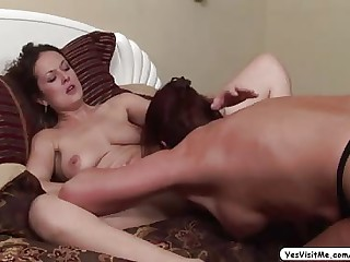 MILF Magdalene seduces mollycoddle Elexis and gets lady-love with scrupulous pussy licking surpassing their way clitoris