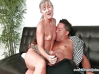 Handjob exotic a of age MILF