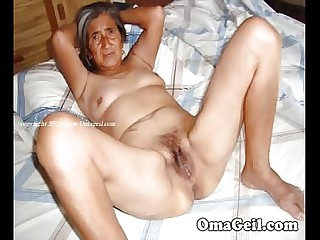 OmaGeiL Pics Private exhibiting a resemblance Bush-leaguer Granny Compilation