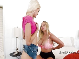 Huge breast step maw dominates poofter teen