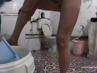 Brazilian mother spied more bathroom