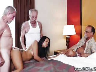 Taboo old mom Staycation nigh a Latin Hottie