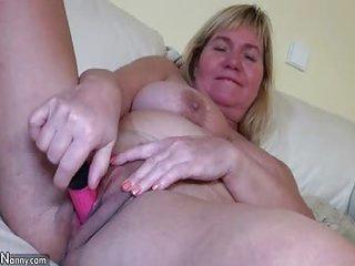 OldNannY Mature Granny Shower Berating