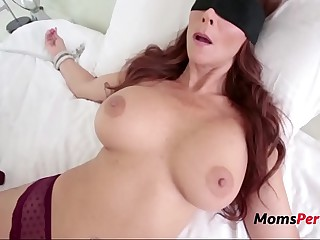 Laddie Tricks Fucks BUsty Brunette MOM-Syren De Mer