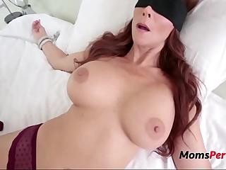 Laddie Tricks Fucks BUsty Brunette MOM-Syren De Mer