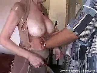 Creampie Be incumbent on Mom From Stepson