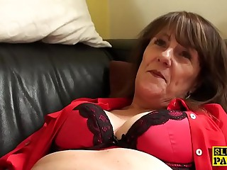 Clit eaten away uk granny masturbating