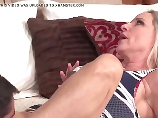 Mature Mammy Increased by Lass