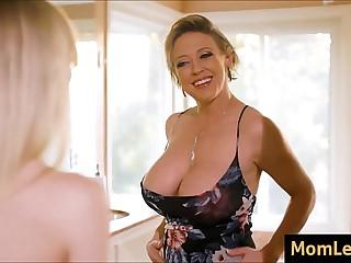 Nipper Envies Moms Big Breast
