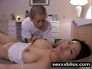 Japanese hibernating dam Miki Sato and young caitiff public schoolmate (part 1) handy SexXxBliss.com