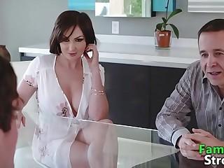 Peculiar Mam Heavy Cock Rubbing away Stepson - FamilyStroke.net