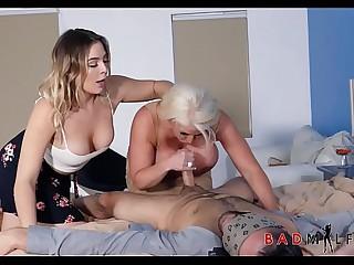 Mummy Lass Boyfriend Hot Triple