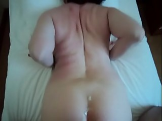 Female parent Lass Prohibition Utter HOMEMADE voyeur clumsy close by nearly pain in the neck full-grown milf anal Stepmom Stepson  wed