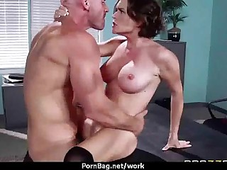 MOM On the move MILF fucks will not hear of client 18