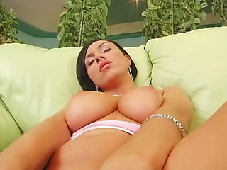 Gorgeous incompetent black cloudy anal creampie