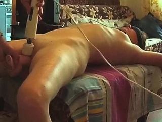 Booked mom Gwen fucked with huge toys
