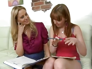 Couple Teaching Teen...F70