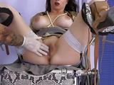 Fingering Horny MILF Sluts in Stockings