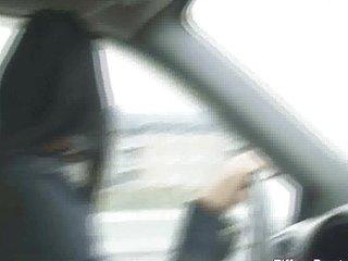 BLOWJOB IN DADDY CAR