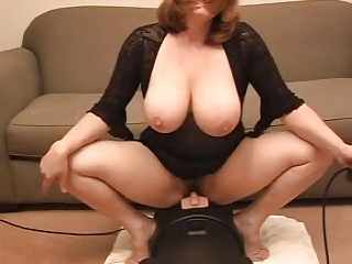 Prexy Wife Mounts a Sybian for Economize on