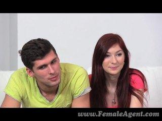 FemaleAgent - MILF indulges in hot triumvirate